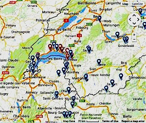 Lake Geneva Region Hotels and Guesthouses Accommodation in Switzerland